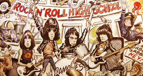 Image result for rock n roll high school